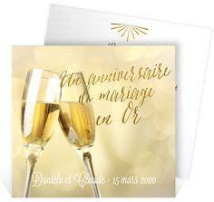 15 ans de mariage invitation anniversaire de mariage pour convier vos proches à vos noces d 39 or 50 ans de mariage