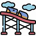 Roller Coaster Icon Icons Example Flaticon Simply