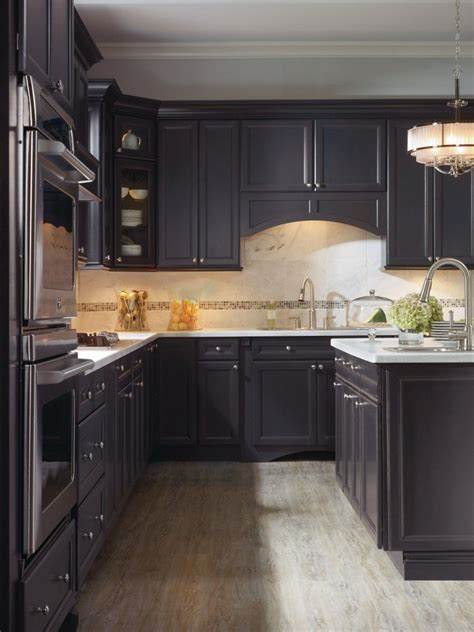 corina maple graphite kitchen  thomasville cabinetry