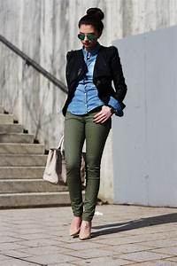 17 Best ideas about Green Pants Outfit on Pinterest | Olive green jeans Army green pants and ...