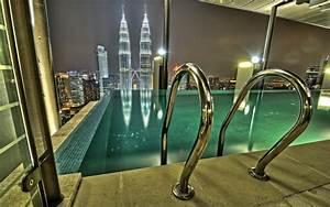 Infinity Pool Kuala Lumpur Buildings Skyscrapers Pool ...