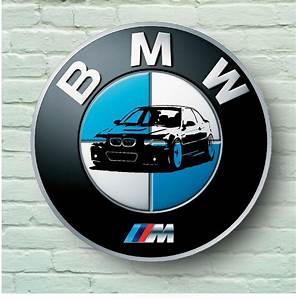 Logo M Bmw : bmw m logo 2ft large garage sign wall plaque car classic ~ Melissatoandfro.com Idées de Décoration