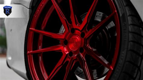 It is showing you of style, exterior, interior. Mercedes-Benz CLA45 AMG | Gloss Red RFX2 - Rohana Wheels