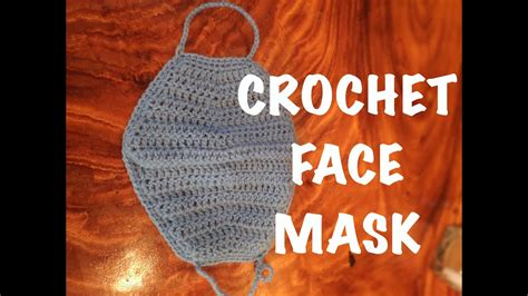 crochet mask face pattern  tutorial crochet youtube