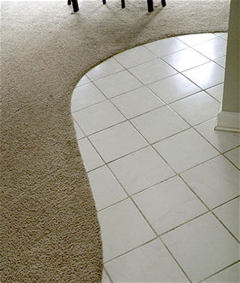 Smooth Tile Floor Transitions   Timber Flooring   Carpet