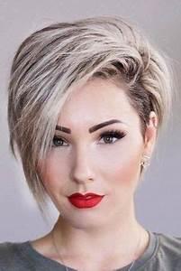 Coupe Courte Visage Ovale : coupes courtes visage ovale coiffure simple et facile ~ Melissatoandfro.com Idées de Décoration