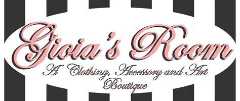 Gioia's Room Boutique