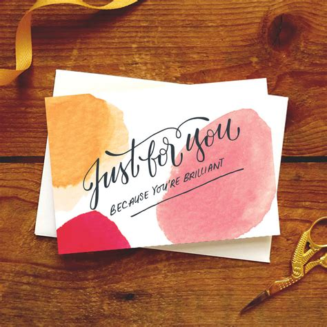 just because card 'just for you' by paper pipit ...
