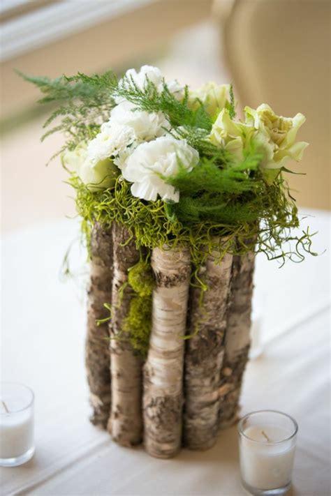 Blumen Hochzeit Dekorationsideen by 1001 Ideen F 252 R Deko Mit Moos Zum Erstaunen Und Bewundern
