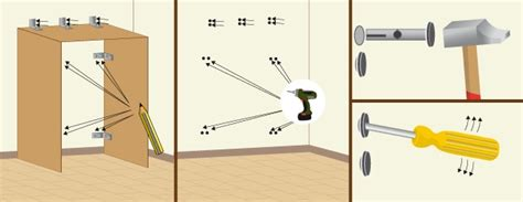 fixer un meuble de cuisine au mur image du site comment fixer un meuble au mur comment fixer