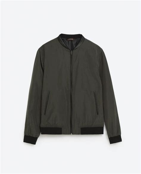 jual beli nylon jacket bomber jacket zara man original