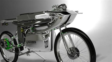 electric powered caf 233 racer concept futuristic technology electric bike build bike