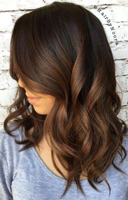 ombre haare braun schokolade braun haarfarbe f 252 r 2017 smart frisuren f 252 r moderne haar hairstyles