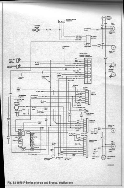 1978 Ford Bronco Turn Signal Wiring Diagram by Brake Light Issue I Need Help Ford Bronco Forum