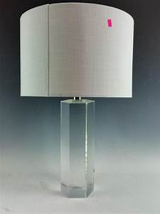 drexel heritage crystal table lamp With drexel heritage floor lamp with crystals