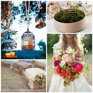 Decoration Mariage Boheme : id e d co mariage boh me style champ tre le blog de modern confetti ~ Melissatoandfro.com Idées de Décoration