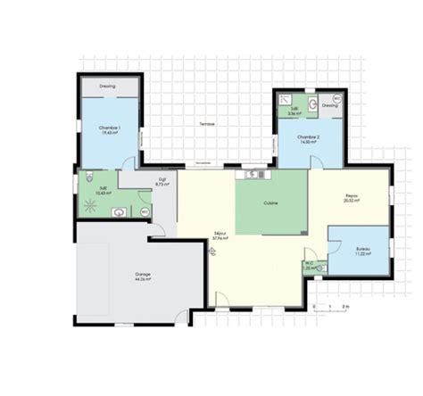 plan maison piscine interieure plan maison avec piscine interieure 11 maison de plain pied 2 d 233 du plan de maison de