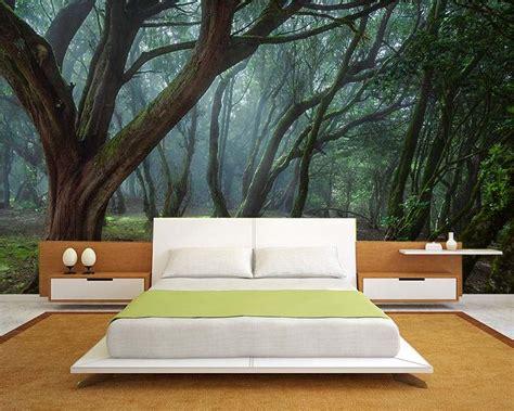 tapisserie chambre à coucher adulte poster mural nature une bouffée d 39 air frais en 33 idées
