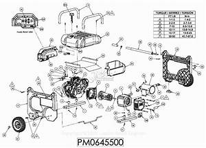 Powermate Formerly Coleman Pm0645500 Parts Diagram For