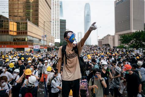 hong kong proteste wired getty della viste sono delle come prime dell estate