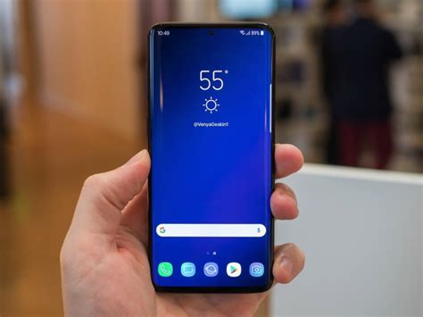 galaxy s10 won t the all screen design you want but it ll get the best next thing bgr