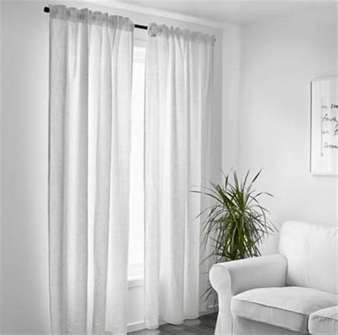 trendy rideaux with rideau lin blanc ikea