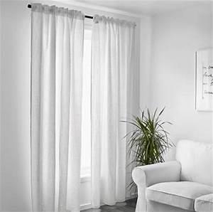 Rideau En Lin Ikea : rideau lin blanc ikea beautiful rideaux jacquard leroy merlin u le havre with rideau lin blanc ~ Teatrodelosmanantiales.com Idées de Décoration