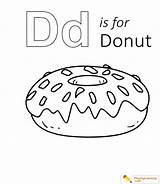 Donut Coloring Sheet sketch template
