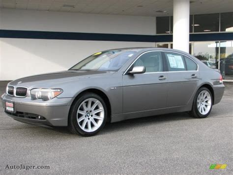 745i 2002 Bmw by 2002 Bmw 7 Series 745i Sedan In Titanium Grey Metallic