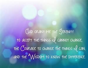 Serenity Prayer Wallpaper