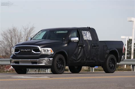Dodge Truck Tailgate 2020 by Spied 2019 Ram 1500 Mega Cab Mule With Reshaped Tailgate