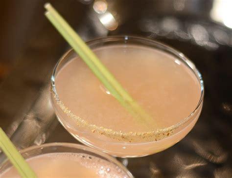 lemongrass cocktail recipe grapefruit ginger and lemongrass sake cocktail garden cocktails