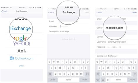 gmail exchange iphone how to set up exchange accounts on your iphone or