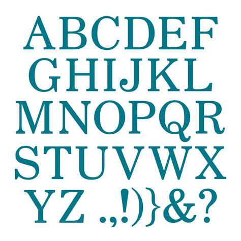 Running writing alphabet