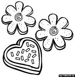 HD wallpapers cookies coloring page