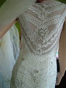 flapper bridesmaid dress 1920s flapper downton boardwalk empire wedding dress tres chicvery tres chic