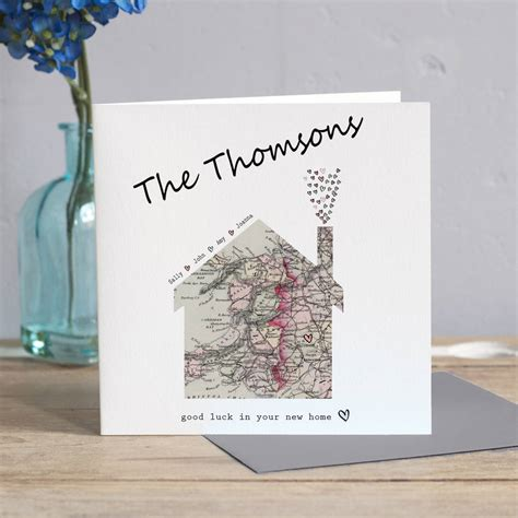 Welcome To The New Home Designing by New Home Map Card By Designs