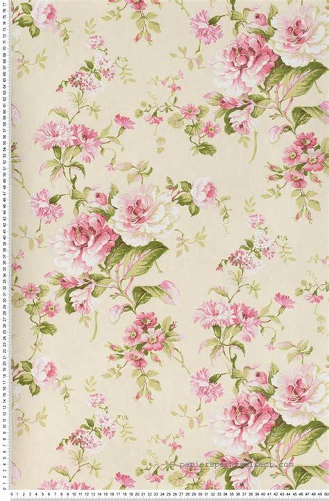 fleurs classiques roses papier peint lut 232 ce imprim 233 s