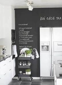 Tableau Pour Cuisine : exceptionnel peinture beton sol exterieur 11 peinture tableau noir pour colorer une cuisine ~ Teatrodelosmanantiales.com Idées de Décoration