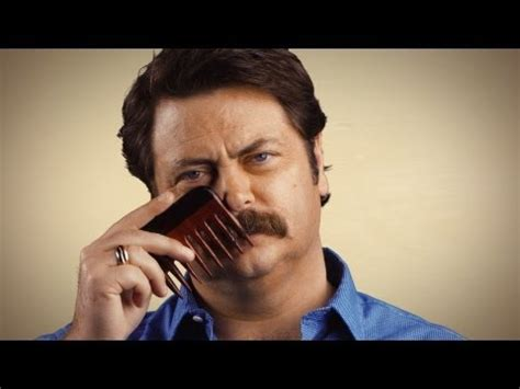 Meme Mustache - manly movember tips how to grow a moustache with nick offerman