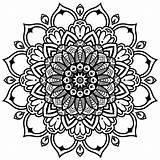 Coloring Mandala Mandalas Intricate Babadoodle Rectangle Infinity Template sketch template