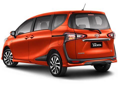 Gambar Mobil Gambar Mobiltoyota by Tipe Warna Dan Harga All New Toyota Sienta