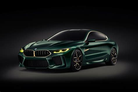Four-door Bmw Concept M8 Gran Coupe Concept Unveiled In