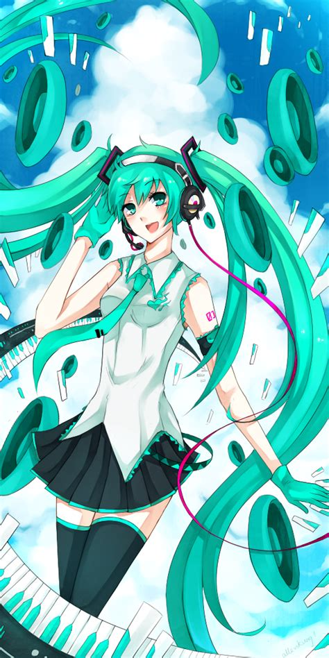 Melt Hatsune Miku Anime And Hatsune Miku Melt By Allenkung1 On Deviantart
