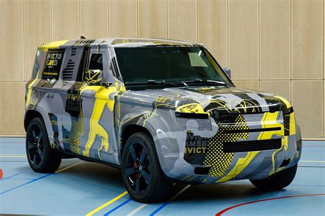 New Land Rover 2020 by New 2020 Land Rover Defender Previewed In Invictus