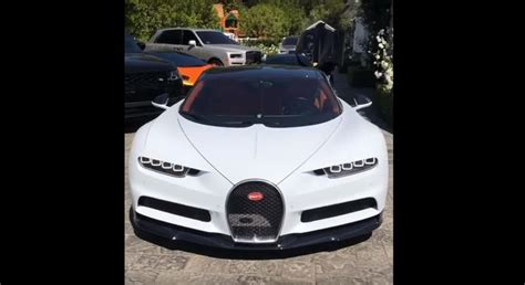Kylie jenner took to social media earlier this week to show off her new ride, a $3 million bugatti chiron, but quickly deleted the post after being it's the fastest car in the world and was the first to break the 300mph barrier. Bugatti Chiron: Latest News, Reviews, Specifications, Prices, Photos And Videos | Top Speed