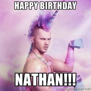 Nathan Meme - funny happy birthday wishes kappit