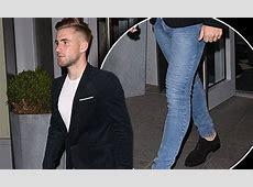 Luke Shaw wears trademark jeggings for Manchester United