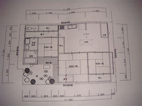 Traditional Japanese House Floor Plan