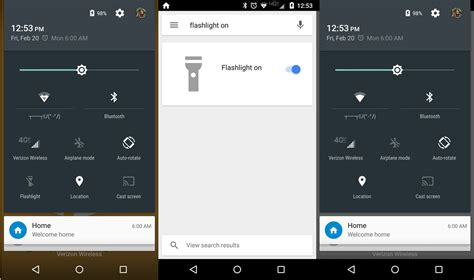 flashlight on android phone android finally has a universal flashlight function